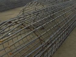Pile Cage Reinforcement, Spiral Wire Welded Pipes